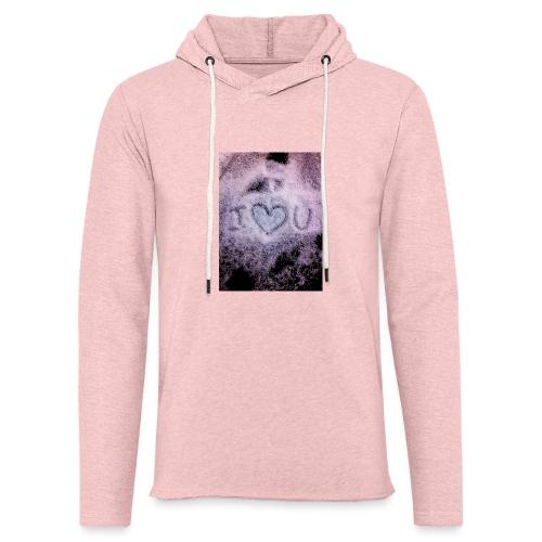 Ich liebe dich - Light Unisex Sweatshirt Hoodie