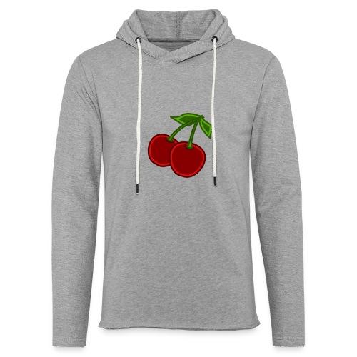 cherry - Lekka bluza z kapturem
