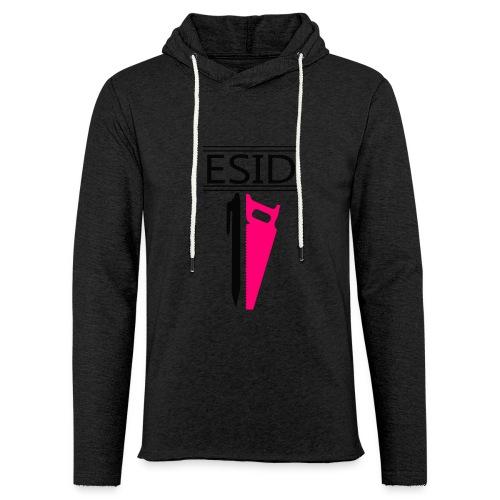 ESID Zwart-roze - Lichte hoodie unisex