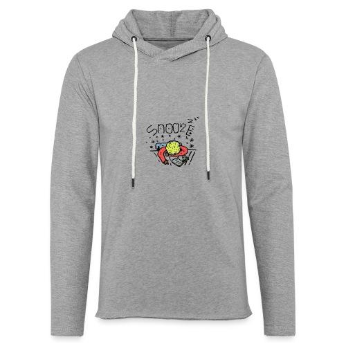 snooze - Sweat-shirt à capuche léger unisexe