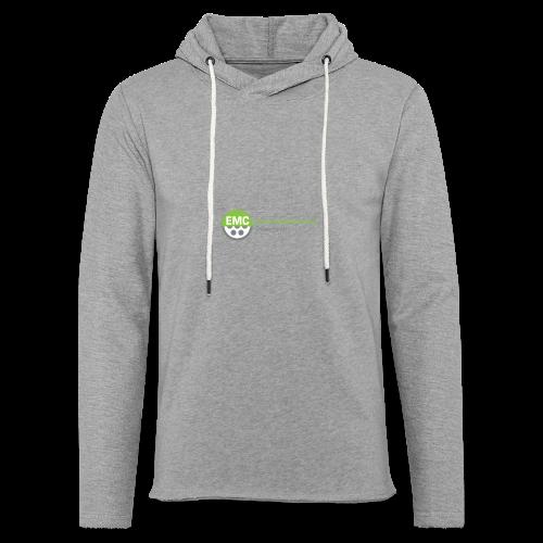 ElektroMobilitätsClub Logo - Leichtes Kapuzensweatshirt Unisex