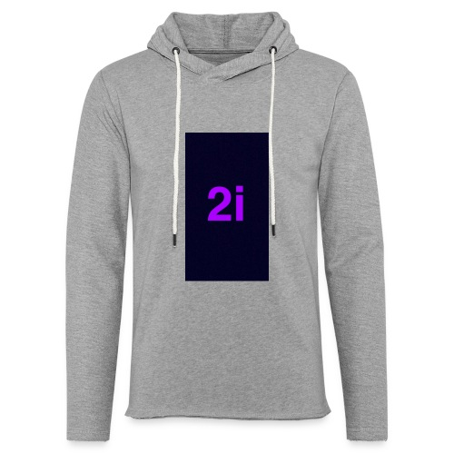 2i - Sweat-shirt à capuche léger unisexe