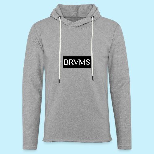 BRVMS - Sweat-shirt à capuche léger unisexe