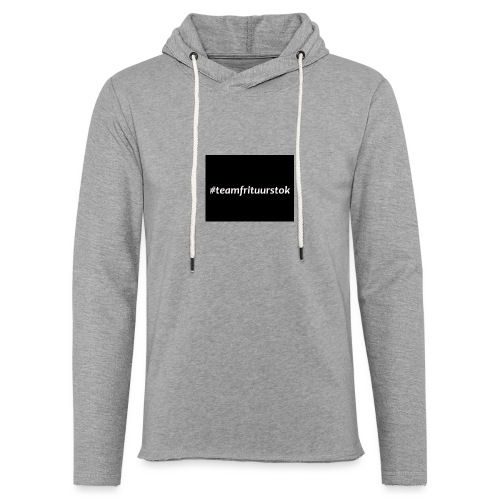 #teamfrituurstok - Lichte hoodie unisex