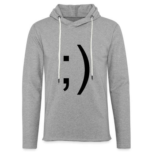 Wink Wink Smile - Light Unisex Sweatshirt Hoodie