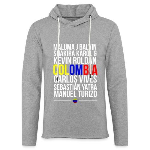 Reggaeton Shirt Kolumbien - Leichtes Kapuzensweatshirt Unisex