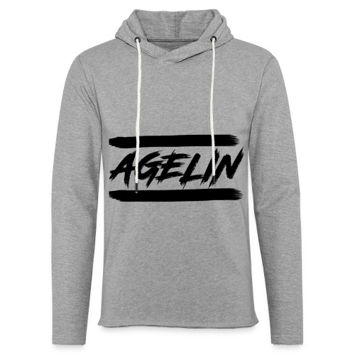AGELIN - Lett unisex hette-sweatshirt