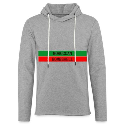 Moroccan Bombshell - Leichtes Kapuzensweatshirt Unisex