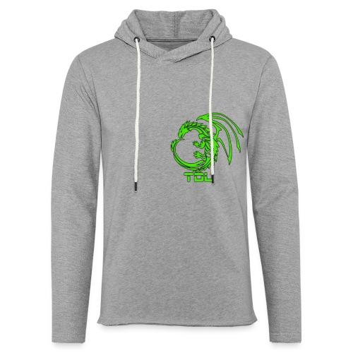 TDL shop - Let sweatshirt med hætte, unisex