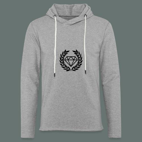 Black diamond Logo - Light Unisex Sweatshirt Hoodie