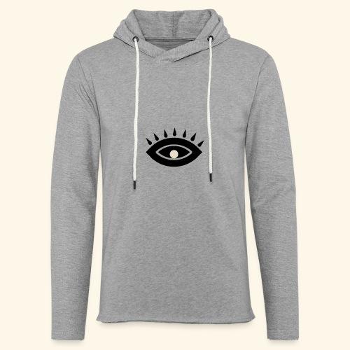 third eye - Lätt luvtröja unisex