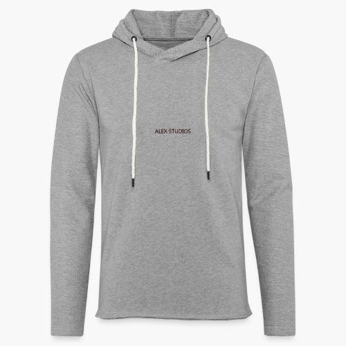 AlexStudios for men - Leichtes Kapuzensweatshirt Unisex
