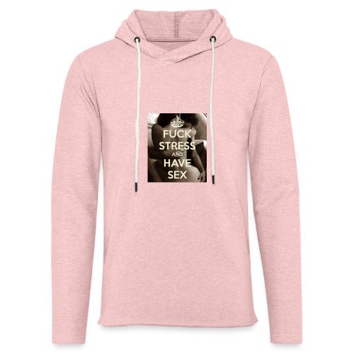 fuck-stress-and-have-sex - Let sweatshirt med hætte, unisex