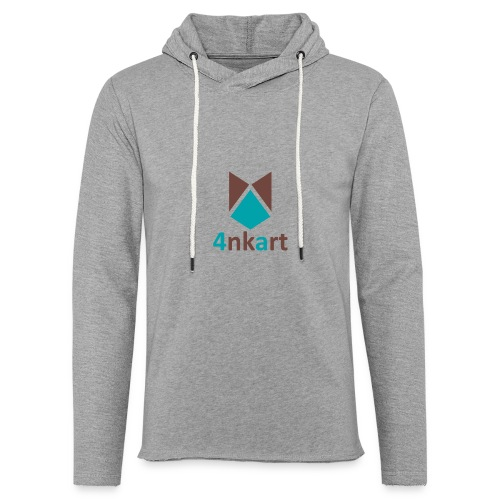 logo 4nkart - Sweat-shirt à capuche léger unisexe