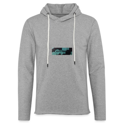 Extinct box logo - Light Unisex Sweatshirt Hoodie