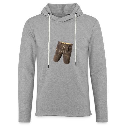 Lederhose - Leichtes Kapuzensweatshirt Unisex