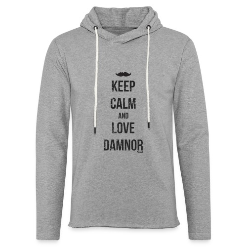 Keep calm and ... (F) - Sweat-shirt à capuche léger unisexe