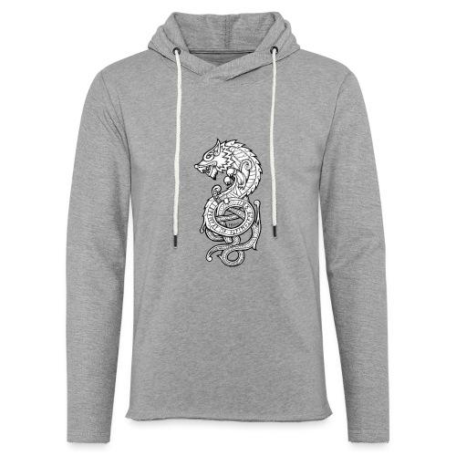Le Loup Fenrir - Sweat-shirt à capuche léger unisexe