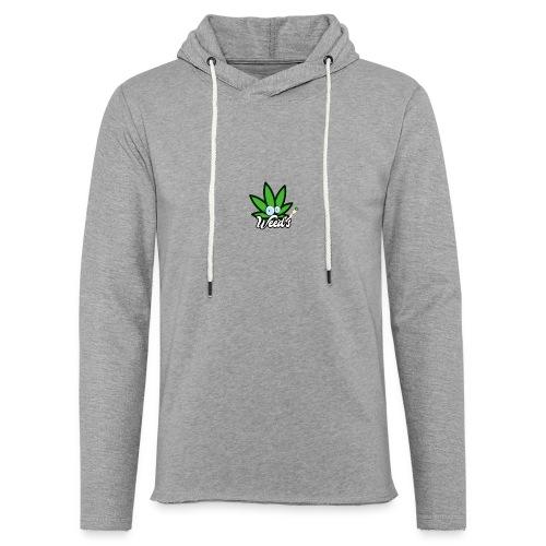 Weed's - Sweat-shirt à capuche léger unisexe