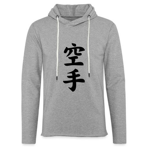 karate - Lekka bluza z kapturem