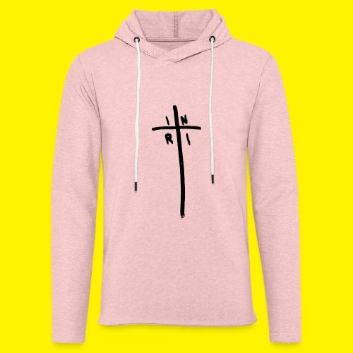 Cross - INRI (Jesus of Nazareth King of Jews) - Light Unisex Sweatshirt Hoodie