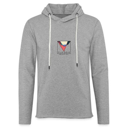 Official Flip Side logo - Light Unisex Sweatshirt Hoodie