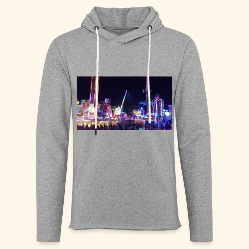 Hollidays - Sweat-shirt à capuche léger unisexe