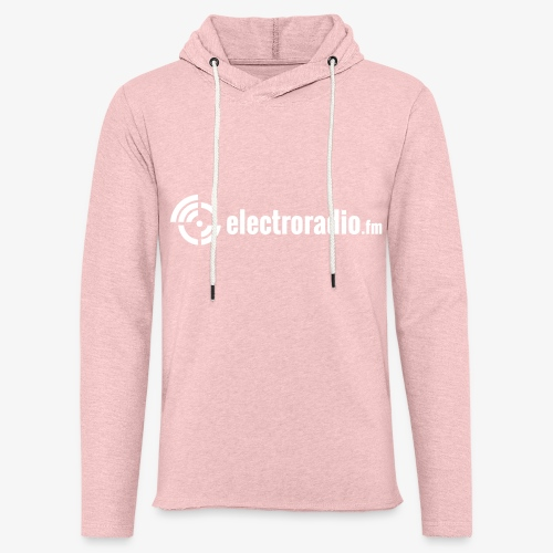 electroradio.fm - Leichtes Kapuzensweatshirt Unisex