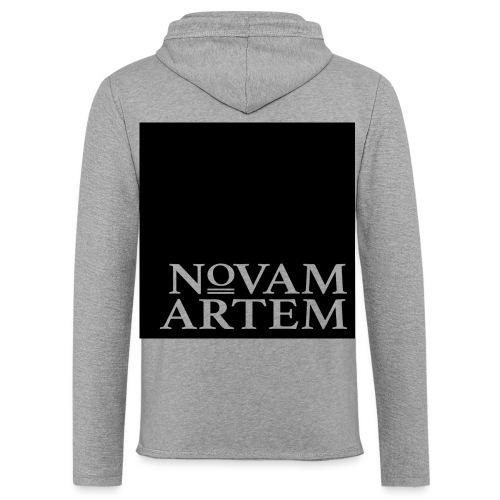 NOVAM ARTEM BLACK SQUARE - Let sweatshirt med hætte, unisex
