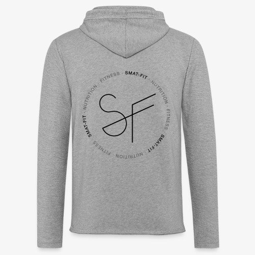 SMAT FIT nutrition & fitness white home - Sudadera ligera unisex con capucha