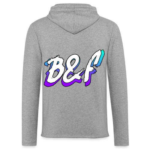 Purple and Blue Fade - Light Unisex Sweatshirt Hoodie
