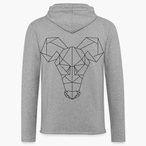 Rat's Head - Lichte hoodie unisex