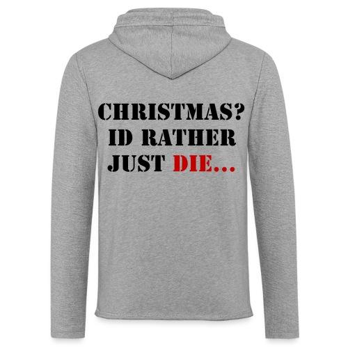 Christmas joy - Light Unisex Sweatshirt Hoodie