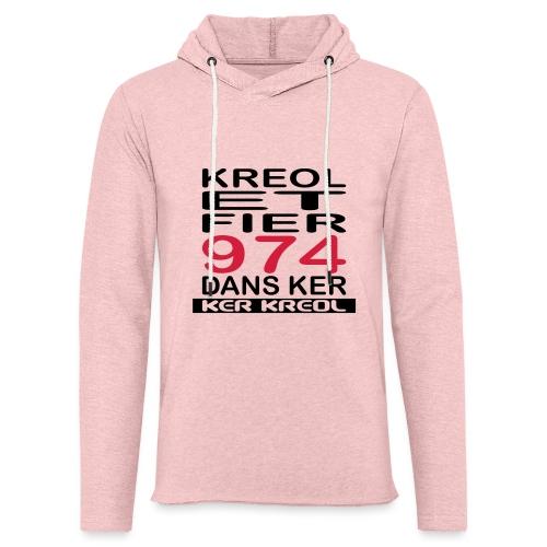 Kreol et Fier dans Ker - Sweat-shirt à capuche léger unisexe