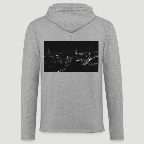 Londres night city - Sudadera ligera unisex con capucha