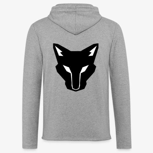 OokamiShirt Noir - Sweat-shirt à capuche léger unisexe