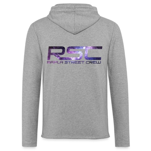 Rapla Street Crew Logo Galaxy - Light Unisex Sweatshirt Hoodie