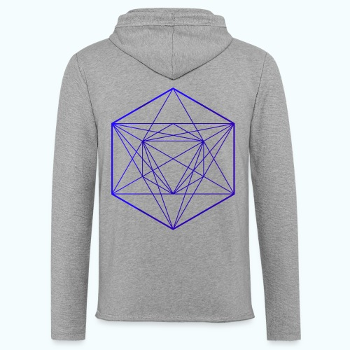 Minimal geometry - Light Unisex Sweatshirt Hoodie