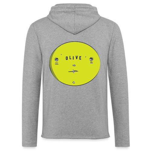 OLIVE FACE - Light Unisex Sweatshirt Hoodie