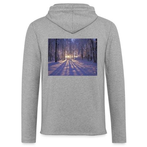 Wintercollectie - Lichte hoodie unisex