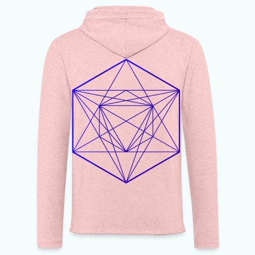 Minimal geometry - Light Unisex Sweatshirt Hoodie