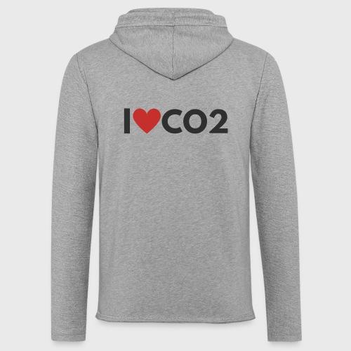 I LOVE CO2 - Kevyt unisex-huppari