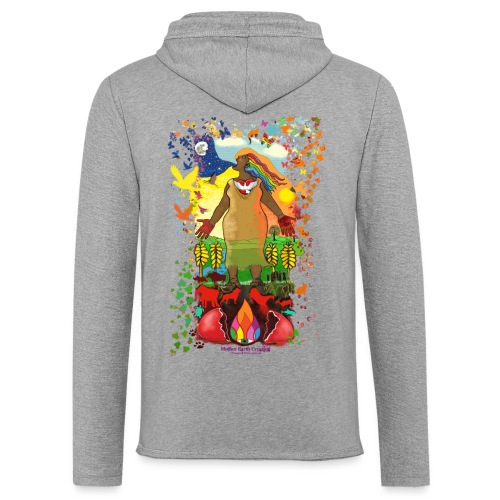 Mother Earth Creating - Lichte hoodie unisex