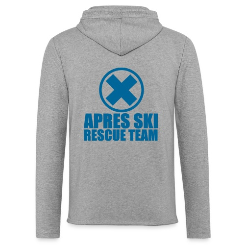 apres-ski rescue team - Lichte hoodie unisex