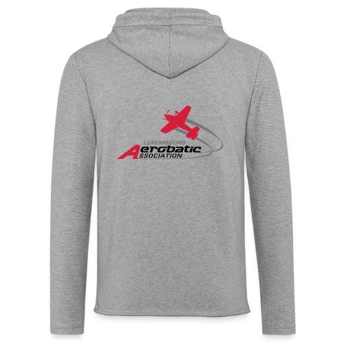 logo aerobatic fs - Sweat-shirt à capuche léger unisexe