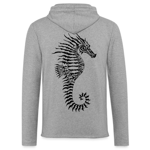 Alien Seahorse Invasion - Light Unisex Sweatshirt Hoodie