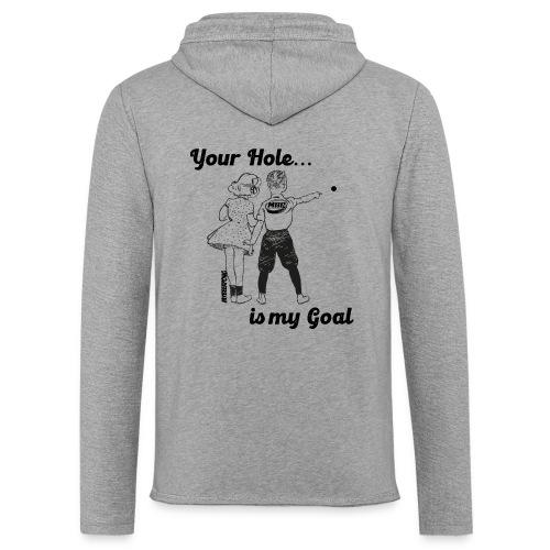 YourHole1 - Leichtes Kapuzensweatshirt Unisex