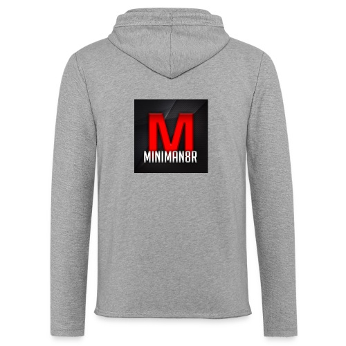 miniman8R Logo - Light Unisex Sweatshirt Hoodie