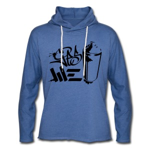 Yes We (spray)Can Graffiti handstyle tag - Leichtes Kapuzensweatshirt Unisex