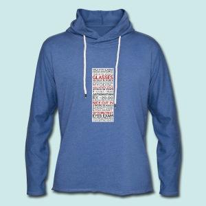 Myopia Poster 2 - Sweat-shirt à capuche léger unisexe